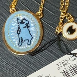 Marc by Marc Jacobs Blue Gold Necklace